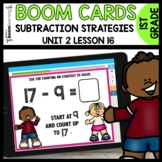 Take from Ten or the Counting up Strategy BOOM CARDS [Modu
