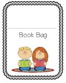 Take home book bag/reading log