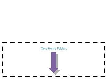 Take-home folder labels
