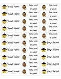Take home folder stickers