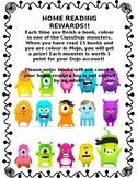 Take home reading Class Dojo rewards (editable)