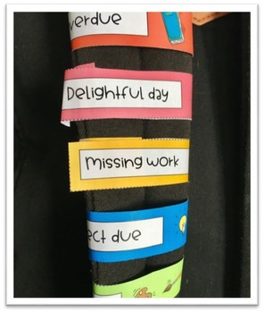 Take home tags & reminders