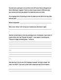 Take our Daughters and Sons to Work Day interview sheet