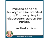 Take that China