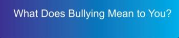 Take the Bullying Survey