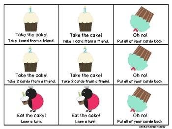 Take the Cake CVCe Word Game