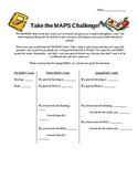 Take the MAPS Challenge! A goal setting worksheet