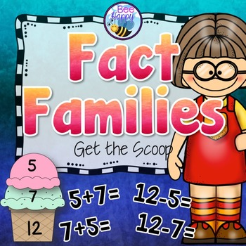 Fact Families Addition and Subtraction Game