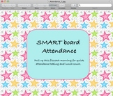 Taking Attendance on the Smartboard