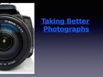 Taking Better Photos KEYNOTE Presentation