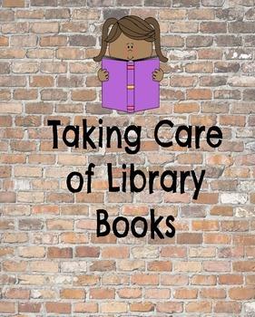 Taking Care of Books: Beginner's Lesson