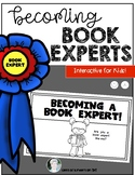 Becoming Book Experts Taking Care of Books Expectations Kindergarten & First ELA