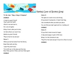 Taking Care of Books!  song