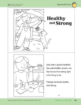 Taking Care of My Body: Take-Home Book