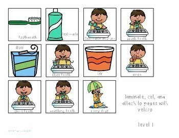 Taking Care of My Teeth Interactive Comprehension Book
