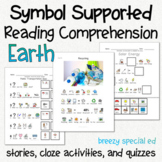 Taking Care of Our Earth - Symbol Supported Picture Reading Comprehension