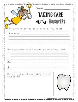 Taking Care of Our Teeth Unit