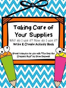 Taking Care of Your Supplies Booklet