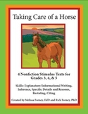Stimulus Texts and Prompt for Grades 3 -  5