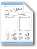 Taking Care of the Beach: Language and Math Activities