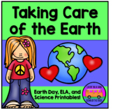 Taking Care of the Earth: Earth Day - Worksheets and EASEL