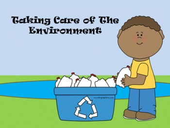 Taking Care of the Environment - A Second Grade Earth Day Review