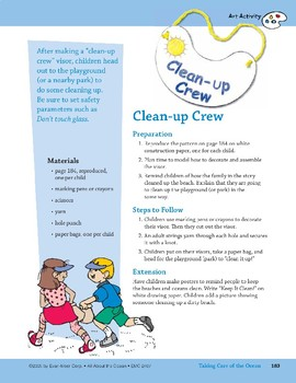 Taking Care of the Ocean: Art and Cooking Activities