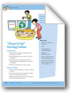 Taking Care of the Ocean: Center Activity and Song
