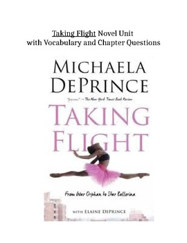 Taking Flight chapter one vocabulary and questions