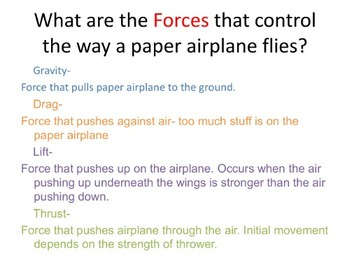 Taking Flight with Paper Airplanes