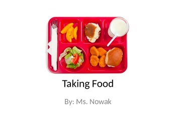 """Taking Food"" Social Story"