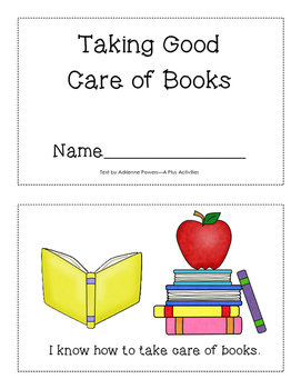 Taking Good Care of Books mini-book