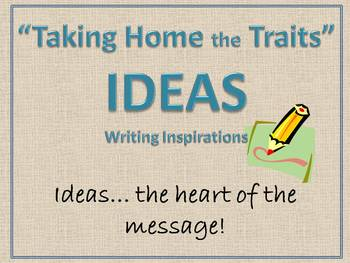 Taking Home the Traits - IDEAS 1-1