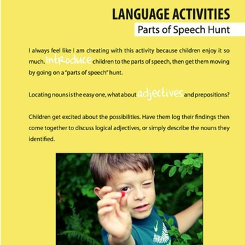 Taking Montessori Outside: A Language Activities Guide for Parents & Teachers