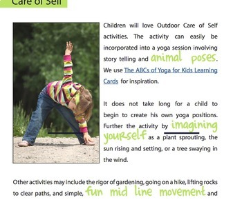 Montessori Outdoor Learning -  Practical Life