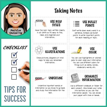 Taking Notes: Tips for Success