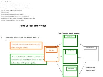 Taking Notes Using a Graphic Organizer, Part II: Inferring