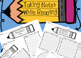 Taking Notes While Reading Bundle