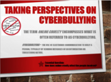 Taking Perspectives on Cyberbullying
