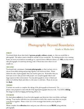 Taking Photos Beyond Boundaries