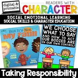 Taking Responsibility - Character Education | Social Emotional Learning SEL