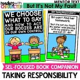 Taking Responsibility | Social Emotional Learning SEL