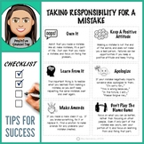 Taking Responsibility For Mistakes:  Tips For Success