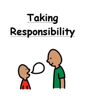Taking Responsibility Social Story