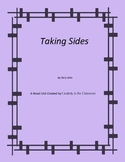 Taking Sides Novel Unit Plus Grammar