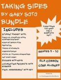 Taking Sides by Gary Soto BUNDLE (includes student, assessment, activity)