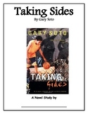 Taking Sides by Gary Soto Student Novel Study