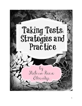 Taking Tests: Strategies and Practice