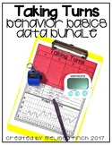 Taking Turns- Behavior Basics Data Bundle