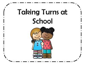Taking Turns Social Story